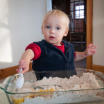 Cloud Dough {12 Days of Sensory Play}