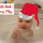 Bubble Bath {12 Days of Sensory Play}