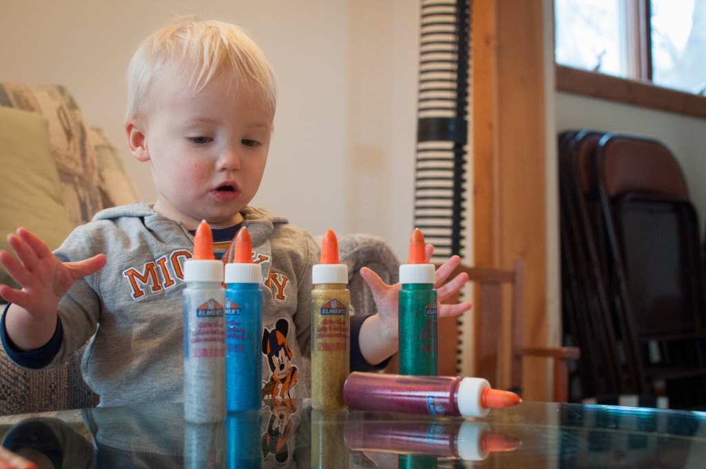 coloring glitter glue crayons-6