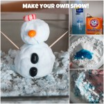 Make Your Own Snow {12 Days of Sensory Play}