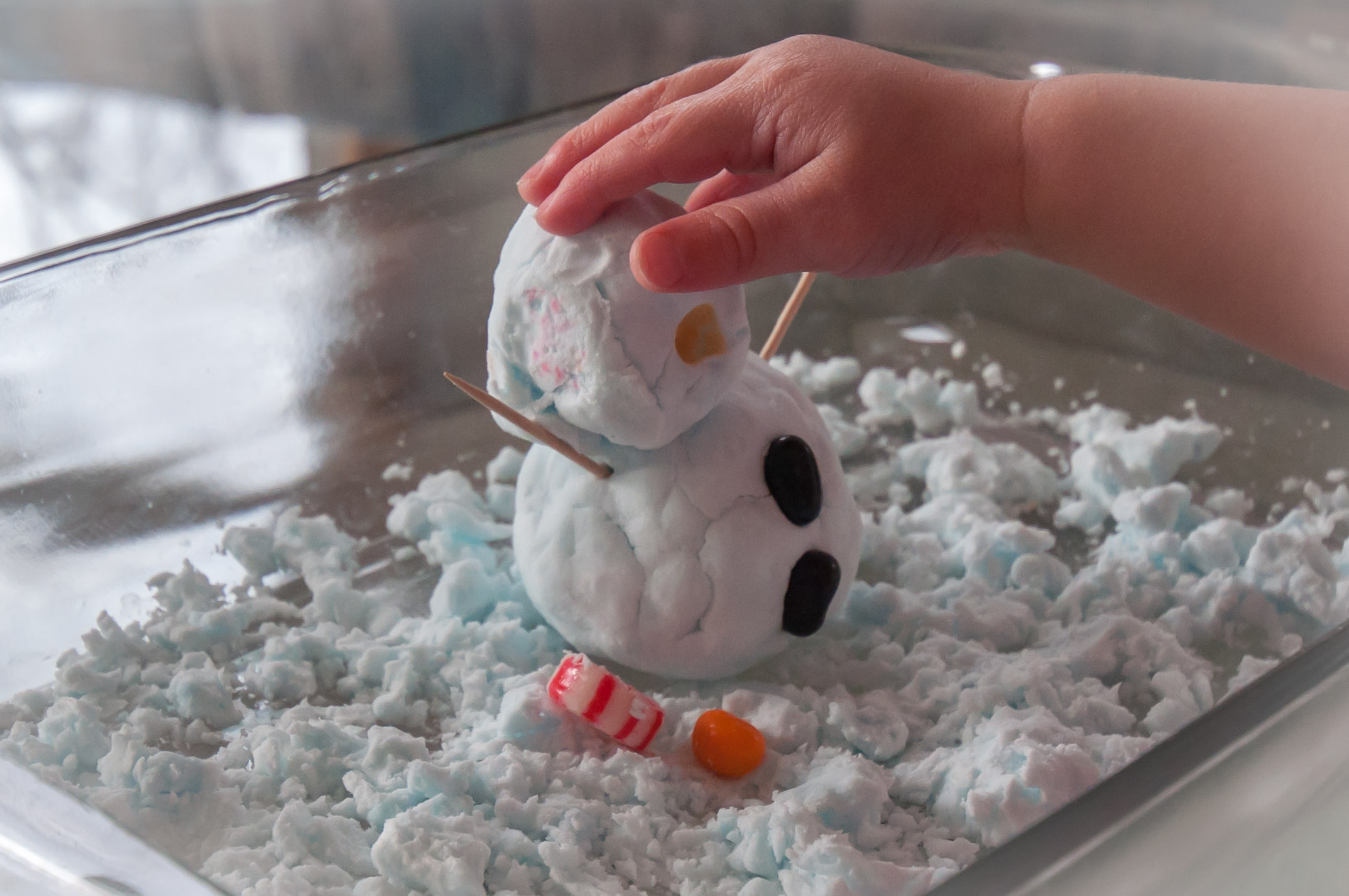 How to make fake snow using disposable diapers youtube